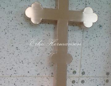 Vaskplekist rist ( Oleviste kirik Tallinnas )